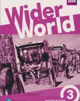 Wider World 3 Workbook with Online Homework Pack