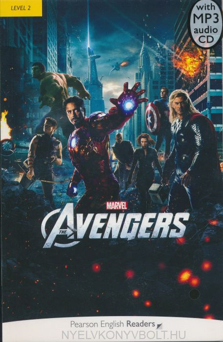 Marvel's The Avengers Book with MP3 Audio CD - Penguin Readers Level 2