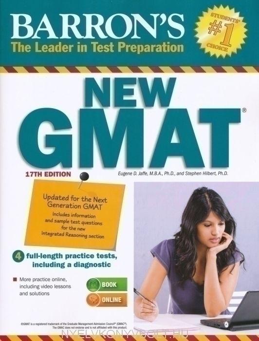 Barron's New GMAT 17th Edition