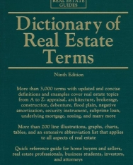 Barron's Dictionary of Real Estate Terms - 9th Edition