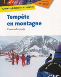 Tempete en montagne - Collection Découverte niveau 1