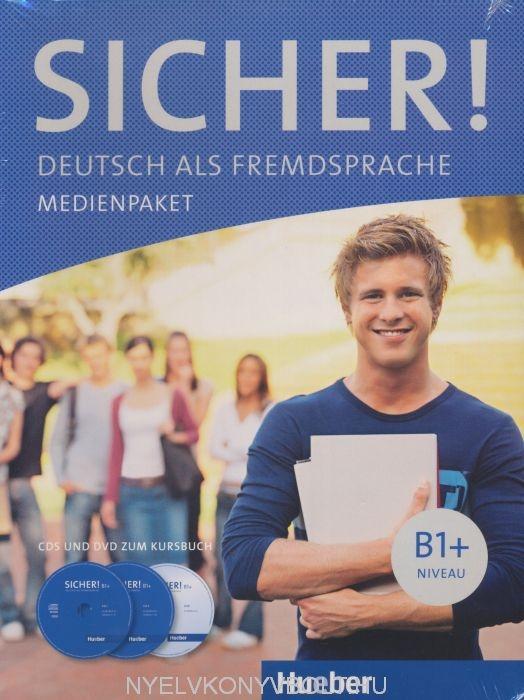SICHER! B1+ Medienpaket - CDs und DVD zum kursbuch niveau B1+
