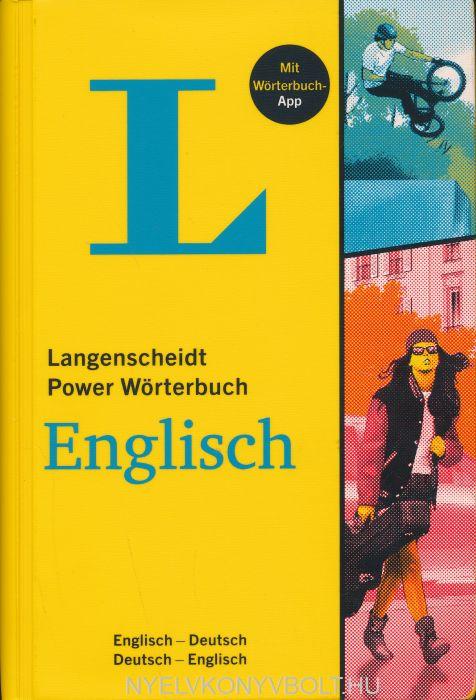 Langenscheidt Power Wörterbuch Englisch - Buch mit Wörterbuch-App: Englisch-Deutsch/Deutsch-Englisch