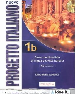 Nuovo Progetto Italiano 1B Corso multimediale di lingua e civiltá italiana A2 Libro dello studente + Audio Cd
