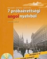 7 próbaérettségi angol nyelvből - emelt szint - Audio CD-vel