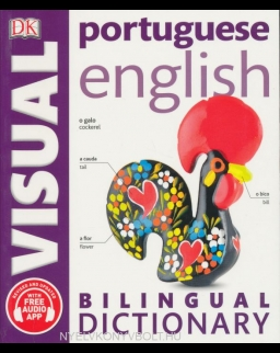 DK Portuguese English Bilingual Visual Dictionary + audio app