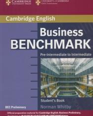 Business Benchmark Pre-Intermediate to Intermediate - BEC Preliminary Edition Student's Book