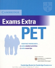 Cambridge PET Exams Extra Official Examination Past Papers Student's Book