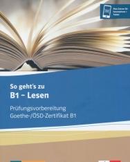 Goethe-Zertifikat B1 Exam preparation | Nyelvkönyv