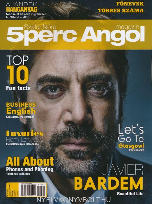 Öt Perc Angol Magazin 2018 Január