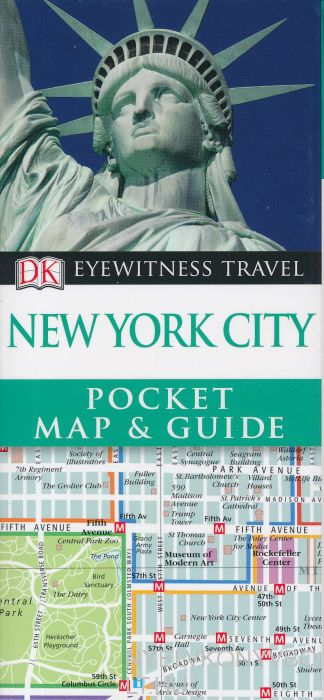 DK Eyewitness Pocket Map and Guide - New York