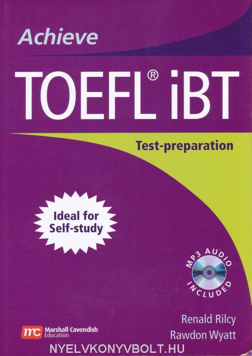 Achieve TOEFL iBT Test-Preparation with MP3 Audio CD