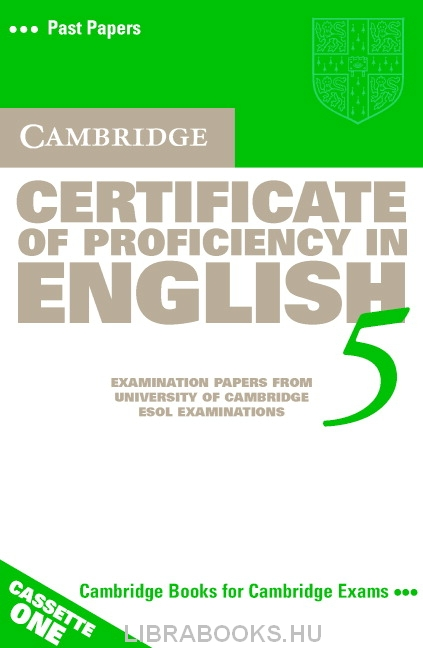 Cambridge Certificate of Proficiency in English 5 Official Examination Past Papers Audio Cassettes (2)