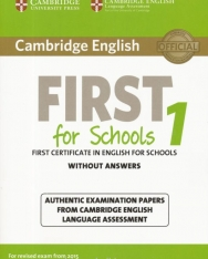 Cambridge English First for Schools Without Answer - For revised exam from 2015