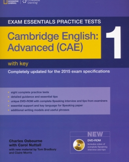 Exam Essentials Practice Tests-Cambridge English: Advanced (CAE) 1 with Key and DVD-ROM