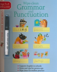 Wipe-Clean Grammar and Punctuation (Usborne Key Skills) Age 5 to 6