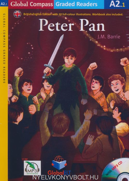 Peter Pan with MP3 Audio CD- Global ELT Readers Level A2.1