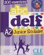 ABC DELF Junior Scolaire A2 200 exercices Livre + DVD-Rom + Corrigés et transcriptions