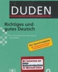 Richtiges und gutes Deutsch (7. Auflage) - Der Duden in 12 Bänden/Band 9