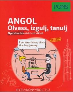 Pons angol nyelvkönyv - Olvass, izgulj, tanulj - Nyelvtanulás rövid sztorikkal