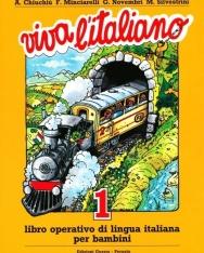 Viva L'Italiano 1 Libro Operativo di Lingua Italiana per Bambini