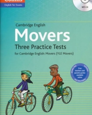 Cambridge English Movers Three Practice Tests with Answer Key & Mp3 CD