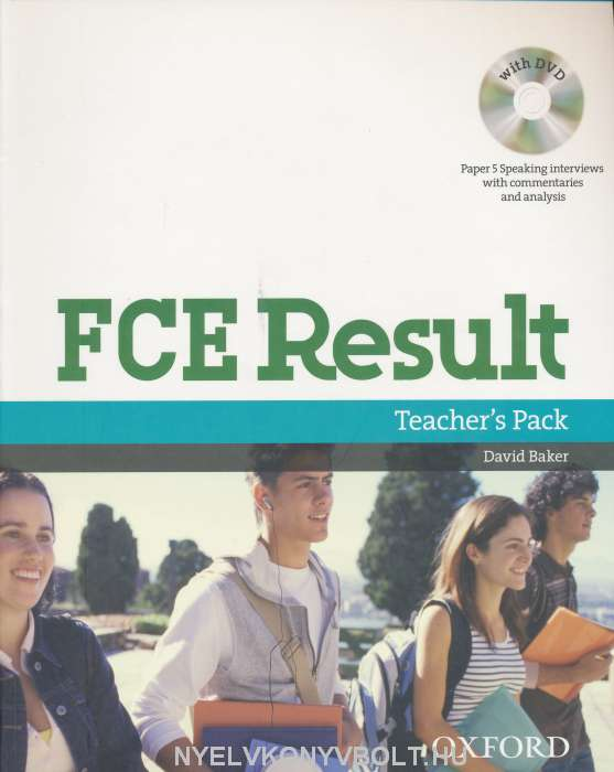 FCE Result Teacher's Pack with Writing & Speaking Assessment Booklet and DVD