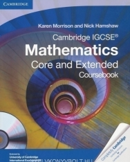 Cambridge IGCSE Mathematics - Core and Extended Coursebook