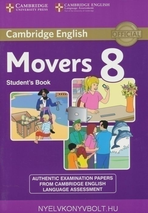 Cambridge English Movers 8 Student's Book