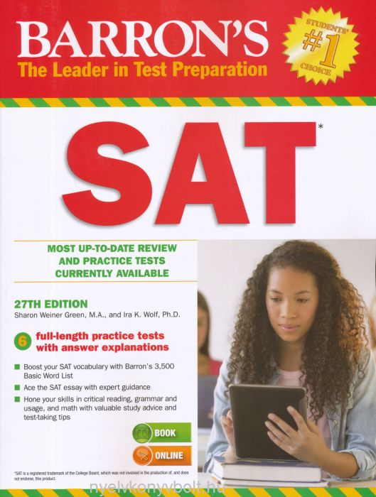 Barron's SAT 27th edition