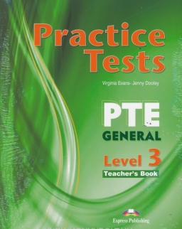 Practice Tests for PTE General Level 3 Teacher's Book - Overprinted - with DigiBooks
