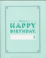 Knock Knock Happy Birthday Fill in the Love Card Booklet