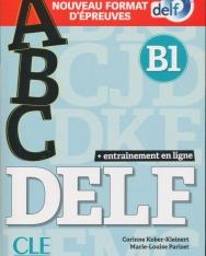 ABC DELF - Niveau B1 - Livre + CD + Entrainement en ligne - Conforme au nouveau format d'épreuves