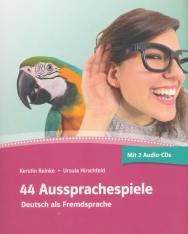 44 Aussprachespiele mit 2 Audio-CDs und Online-Angebot