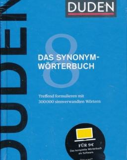 Duden 8 Das Synonymwörterbuch: Treffend formulieren mit 300000 sinnverwandten Wörtern 7. Auflage