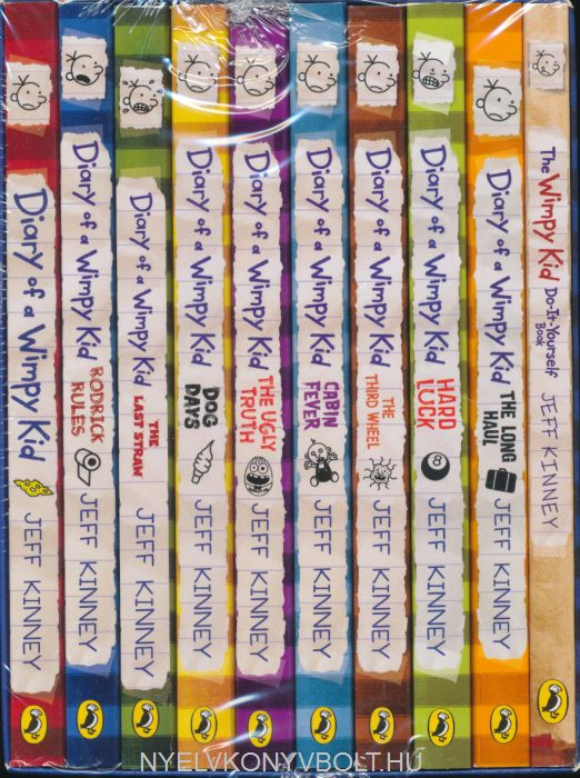 Jeff Kinney: Diary of a Wimpy Kid Collection