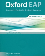 Oxford EAP: Pre-Intermediate/B1: Student's Book and DVD-ROM Pack