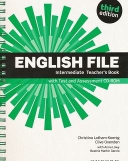 English File - 3rd Edition - Intermediate Teacher's Book with Test and Assessment CD-Rom