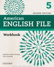 American English File 2nd Edition 5 WB without Key