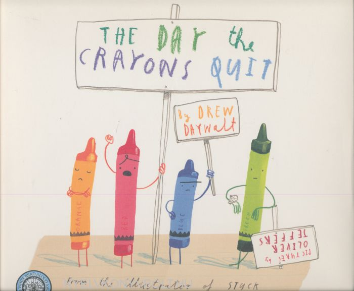 Drew Daywalt: The Day the Crayons Quit