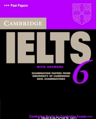 Cambridge IELTS 6 Official Examination Past Papers Student's Book with Answers