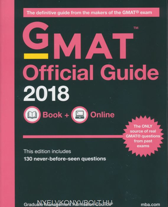 GMAT Official Guide 2018: Book + Online