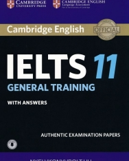 Cambridge IELTS 11 Official Examination Past Papers General Student's Book with Answers with Audio