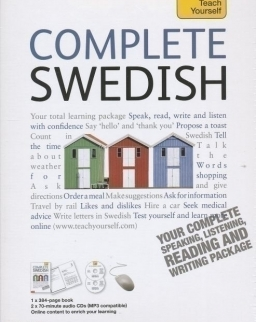 Teach Yourself - Complete Swedish from Beginner to Level 4 Book & Double CD Pack