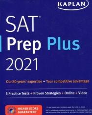 SAT Prep Plus 2021: 5 Practice Tests + Proven Strategies + Online + Video
