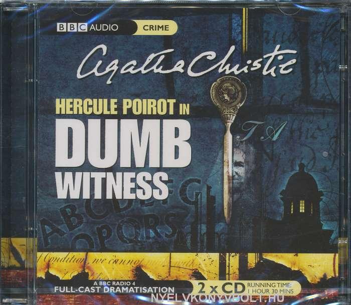Agatha Christie: Dumb Witness - Audiobook CD