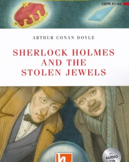 Sherlock Holmes and the Stolen Jewels with Audio CD + Free Online Activies - Helbling Readers Level A1-A2