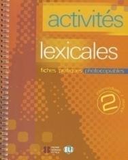 Activités Lexicales 2 - Photocopiables