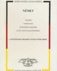 Német tesztek, fordítások a középfokú írásbeli nyelvvvizsgához