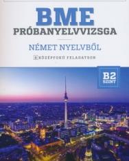 BME Próbanyelvvizsga német nyelvből B2 - 8 középfokú feladatsor CD melléklettel (MX-1222)
